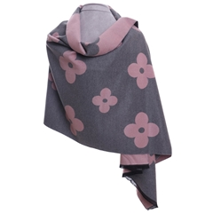 Zelly Flower Wrap - Pink