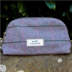 Earth Squared Heritage Make Up Bag - Lavender