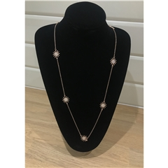 Nour Rose Gold Star Necklace