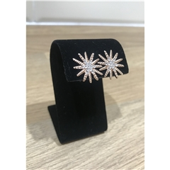 Nour Rose Gold Star Earrings