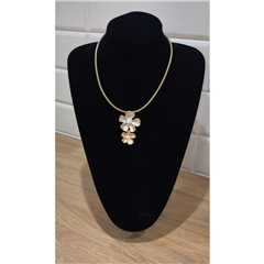 Dante Double Flower Necklace
