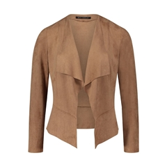 Betty Barclay Soft Touch Waterfall Jacket - Camel
