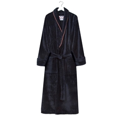 Bown Mens Earl Dressing Gown - Navy