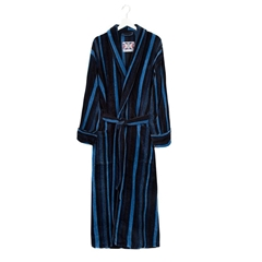 Bown Mens Salcombe Dressing Gown - Navy