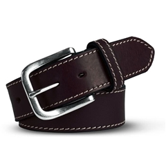 Meyer Handmade Leather Jeans Belt - Brown