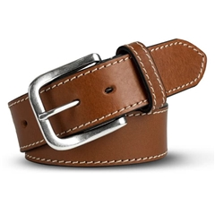Meyer Handmade Leather Jeans Belt - Tan