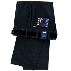 New Autumn Bruhl Cotton Trouser - Navy - Montana 184090 680
