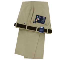 New Autumn Bruhl Cotton Trouser - Beige - Montana 184090 170