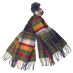 Barbour Mens Mixed Tartan Scarf