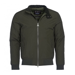 New 2021 Barbour International Steve McQueen Arlington Jacket - Sage