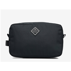 New 2021 Gant Sports Wash Bag - Black