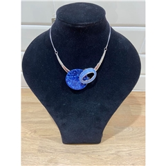 Dante Statement Necklace - Blue