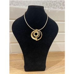 Dante Spiral Necklace - Gold