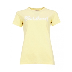 Spring 2021 Barbour Rebecca Tee - Yellow