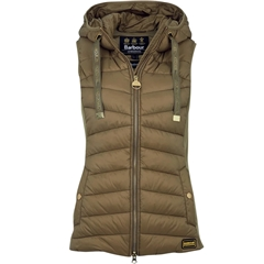 Spring 2021 Barbour International Grid Gilet - Army Green