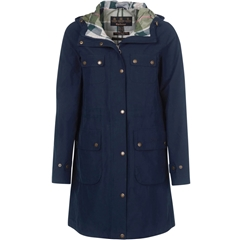 Spring 2021 Barbour Idris Waterproof Jacket - Navy