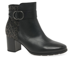 Gabor Venus Ankle Boot - Black