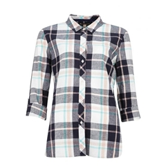 Spring 2021 Barbour Seaglow Shirt - Navy Check