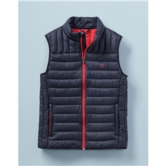 Crew Men's Lightweight Lowther Gilet - Dark Navy