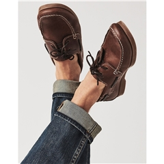 Crew Men's Austell Deck Shoe - Chocolate