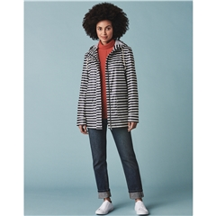 Crew Women's Rubber Stripe Jacket - Navy