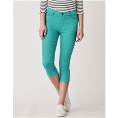 Crew Women's Murray Crop Trouser - Parrot