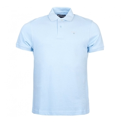 Spring Barbour 2021 Men's  Sports Polo - Sky