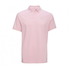 Spring Barbour 2021 Men's  Sports Polo - Pink