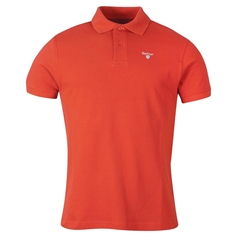 Spring Barbour 2021 Men's  Sports Polo - Paprika