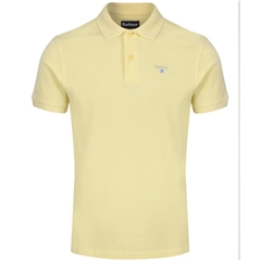 Spring Barbour 2021 Men's  Sports Polo - Lemon Zest