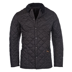 Spring Barbour 2021 Men's Heritage Liddlesdale Jacket - Black