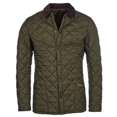 Spring Barbour 2021 Men's Heritage Liddlesdale Jacket - Olive