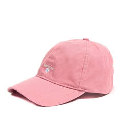 New 2021 Barbour Cotton Sports Cap - Dusty Pink