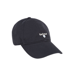 New 2021 Barbour  Cotton Sports Cap - Navy