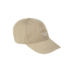 New 2021 Barbour  Cotton Sports Cap - Stone