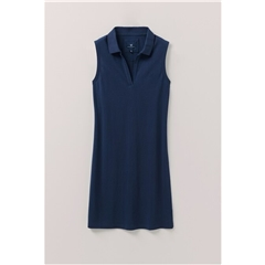 Crew Women's Tennis Pique Dress - Navy