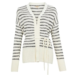 Spring 2021 Barbour Holywell Cardigan - Off White
