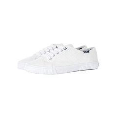 Spring Barbour 2021 Hailey Canvas Trainers - White