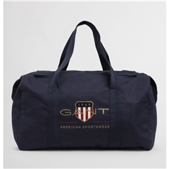 New 2021 Gant Archive Shield Duffle Bag - Marine