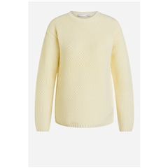 Oui Sporty Look Sweater - Yellow