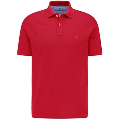 New 2021 Fynch Hatton Cotton Polo Shirt - Sangria