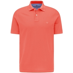 New 2021 Fynch Hatton Cotton Polo Shirt - Flame