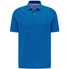 New 2021 Fynch Hatton Cotton Polo Shirt - Royal Blue