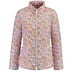 Gerry Weber Patterned Quilted Jacket - Multi