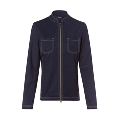 Olsen Denim Look Jacket - Blue