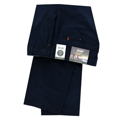 New 2021 Meyer Cotton and Linen Trouser - Navy - Rio 3131 18