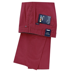 New 2021  Bruhl Cotton Trouser - Wine - Montana 184090 840