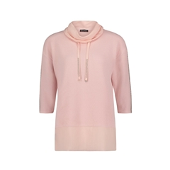Betty Barclay Cowl Neck Jumper - Pink