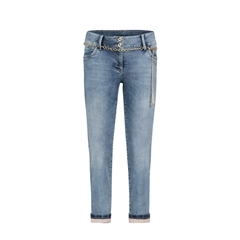 Betty Barclay Cropped Jeans - Denim Blue