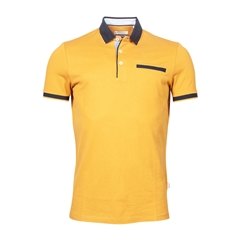 New 2021 Giordano Modern Fit Polo Shirt -  Yellow